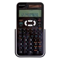 EL506XBWH, tasca, Scientifico, Nero, Bianco, Batteria / Solare, LR44, 8 cm