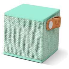 Rockbox Cube Fabriq Edition Speaker Bluetooth - Verde Acqua