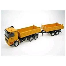 40149 Mb Actros With Tipper & Trailer 1/50 Modellino