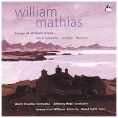 Mathias- Songs Of William Blake