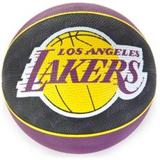 2015 Nba Team Size 7 Rubber Basketball - Lakers Rubber