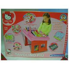 Hello Kitty Tavolino Piu Clementoni 3/6 Anni