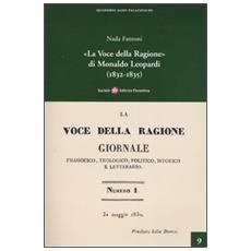 «La voce della Ragione» di Monaldo Leopardi (1832-1835)