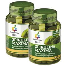 Optima Spirulina Maxima 60 Compresse 1000 Mg (2 Confezioni)