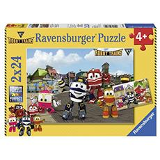 RVB07822 Robot Trains - 2 Puzzle da 24 Pezzi