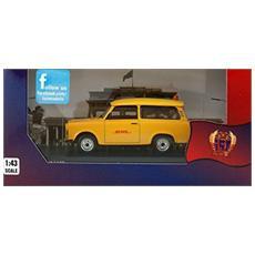 Ist190 Trabant 601 S Follow Me Dhl Hub Leipzig 2001 Ddr 1:43 Modellino