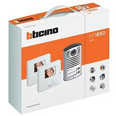 Kit Villa 2 Fili Videocitofono Vivavoce Bifamiliare Art. 365521 New!!!