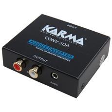 Conv. CONV3DA Digit. vs Analog. AudioOut