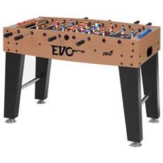 Calcetto Evo Pro Cm 121x92xh78,5. Aste Telescopiche. Segnapunti. Palline Incluse. Piedini Regolabili In Altezza - 6200056