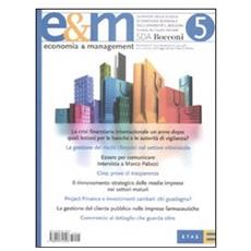 Economia & Management. Vol. 5.