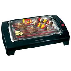 BQ 1240 CB Barbecue Elettrico Potenza 2000 Watt Colore Nero