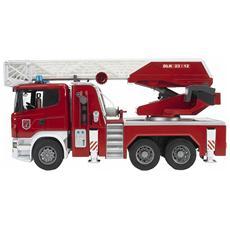 "Camion ""Scania R"" Pompieri con Luci"