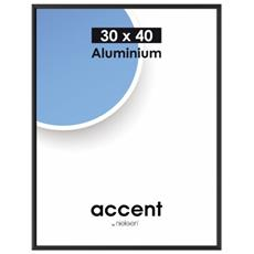 Nielsen Accent 30x40 aluminio nero 52426