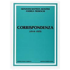 Corrispondenza (1914-1925)
