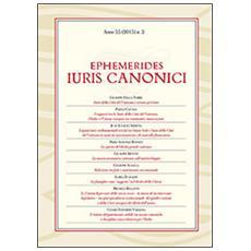 Ephemerides Iuris canonici (2015) . Vol. 2