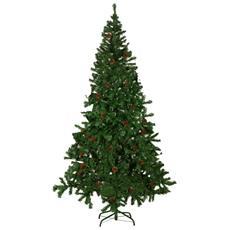 Verde Deco 2,7 m Supporto per Albero di Natale SALCAR Albero di Natale 270 cm Natale Abete Costruzione Rapida incl ignifugo artificialmente con 1468 Punte
