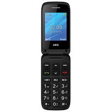 """SM420 Cellulare Senior Phone Display 2.4"""" +Slot MicroSD con Tasti Grandi, SOS, Bluetooth e suono amplificato - Italia"""