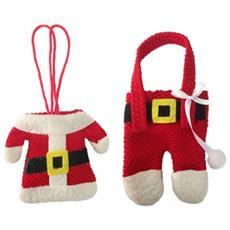 Portaposate A Forma Di Babbo Natale