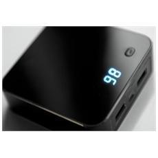 31891, Ioni di Litio, USB, Nero, Universale, LED, Micro-USB