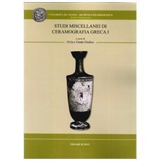 Studi miscellanei di ceramografia greca