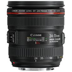 CANON - Obiettivo EF 24-70mm f / 4L IS USM Attacco EF