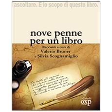 Nove penne per un libro