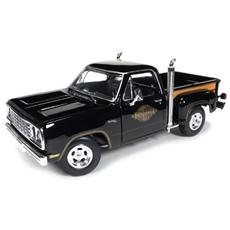Amm1016 Dodge Midnite Express Truck 1978 Black 1:18 Modellino