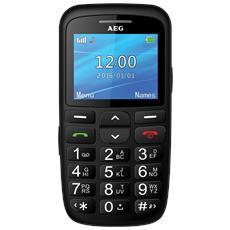 """SM315 Cellulare Senior Phone Display 2.2"""" +Slot MicroSD con Fotocamera Tasti Grandi, SOS e suono amplificato"""