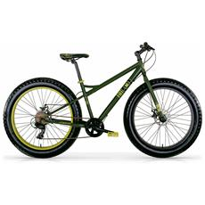 """Bicicletta Fat Machine Di Mbm Con Telaio In Acciaio E Ruote Da 26"""""""""""