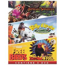 DVD JUNGLE SH. +BILLY IL KOALA+FREE BIRDS