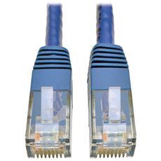 Tripp Lite CAT6, M / M, 3FT 0.9144m Cat6 U / UTP (UTP) Blu cavo di rete