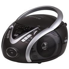 Stereo Portatile Boombox Cd Mp3 Cmp 542 Usb Grigio