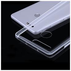 Custodia Cover Back Case Ultra Sottile In Morbida Tpu Trasparente Per Huawei Honor 8 + Pellicola Protettiva + Pannetto Pulisci Schermo