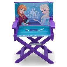 Disney Frozen Sedia Regista, Legno, Viola, 35.55x28.90x53.35 Cm