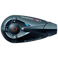 Auricolare da Casco Singolo Bluetooth F4MC Colore Nero