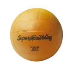 Pallone Superminivolley in PVC Colore Arancione
