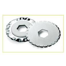 confezione da 2 pezzi - lama taglio zigrinato per taglierina smartcut a300 / a400 rexel
