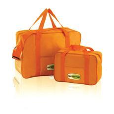 Set 2 Borse Termiche Colore Arancione