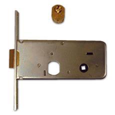 Serratura da Infilare Iseo Art. 712.601 Misura 60 mm Frontale 16 mm Con Cilindro