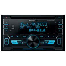 Sintolettore CD DPX-3000U Potenza 4x50W Supporto MP3 / WMA / WAV / FLAC Nero