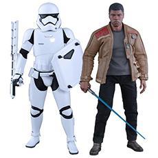 Figura Star Wars Episode Vii Mms Action Figure 2 Pack 1/6 Finn E First Order Riot Control Stormtrooper
