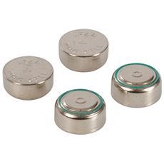 511250 Batterie A Bottone Al Litio Lr44 4 P. zi 4 P. zi