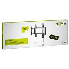 TV EasyFlip M, 400 x 400 mm, Nero, -90 - 90°, Scatola
