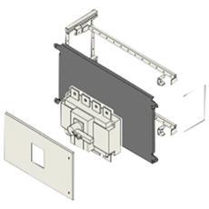 Kit Installazione Scatolati Grigio Metallo 24M 60 x 40 cm 3P - 4P GW49492