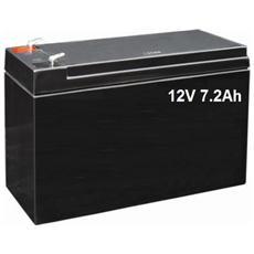 Batteria / Accumulatore Al Piombo 12v 7.0ah