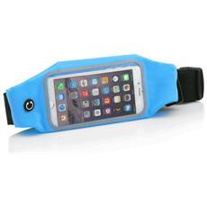 """Athletic Marsupio Sport Fitness per Smartphone fino a 5"""" - Blu"""