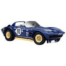 Tsm124324 Chevrolet Corvette N. 10 Accident 12h Sebring '66 Thompson-gulstrand 1:43 Modellino