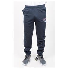 Pantalone Uomo Gymnasium Pro Jersey Blu Xl