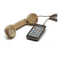 POP Phone, Monofonico, Passanuca, Sabbia, Cablato, 3,5 mm, Multi