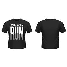 Awolnation - Run (T-Shirt Unisex Tg. S)